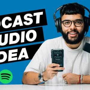 AMAZING Video Podcast Studio Idea (Start to Finish Studio Setup)