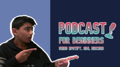 How to start a Audio and Video Podcast for free on SPOTIFY (with guests)