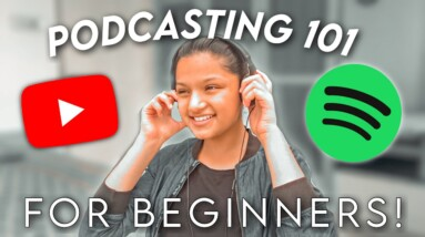 How to start a PODCAST for Beginners? In 2021! *FREE!*