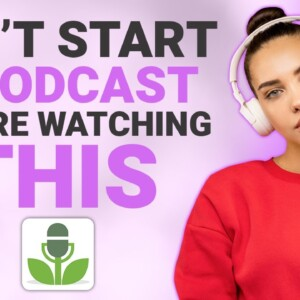 How To Start A Podcast In 2021 🎤 - Podcasting Tutorial For Beginners (Using Buzzsprout)