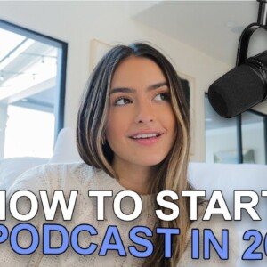 How To Start a Podcast in 2021 | recording virtually, increase your downloads, editing, and more