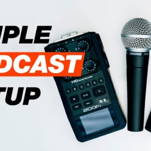 Easy Podcast Setup for Two People (Must-Know Podcasting Tips for Beginners)